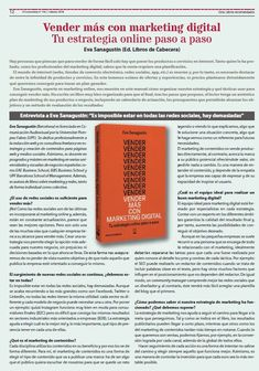 """Entrevista para la revista """"O Economista"""" del Colexio de Economistas de A Coruña, febrero 2018. Marketing Digital, Bose, Budget Plan, February, Interview, Journals"""