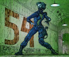 Adam Adamowicz - adore this one! Fallout Dance Off! Fallout Concept Art, Fallout Art, Fallout New Vegas, Female Character Design, Character Art, Vault 111, Vault Dweller, Bioshock Cosplay, Post Apocalypse