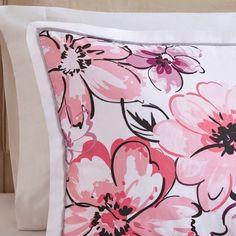 KESS InHouse Ebi Emporium Flourish Yellow Orange Floral Queen Comforter 88 X 88
