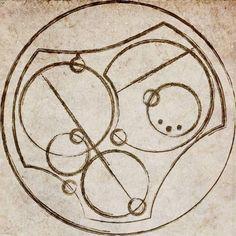 I love you. Written in Circular Gallifreyan. On the inside of his ring?