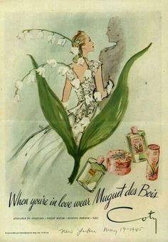 Muguet des Bois by Coty.