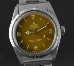 Rolex Explorer ref 1016 to explore everything