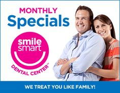 July specials include new patient discount, whitening, veneers & crowns! Visit our Facebook app for details http://on.fb.me/J50cnw