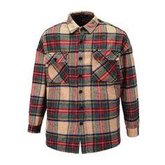 187 Thick Khaki Plaid Shirt Old School Hip Hop Outfits, Old School, Streetwear, Sunglasses Women, Men Casual, Plaid, Mens Tops, Shirts, Clothes
