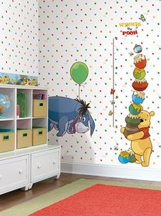 Winnie the Pooh & Friends Wall Decals, Wallpaper, and Borders