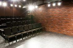 the bridge theatre - New York 30-seat black-box theatre 26' x 18' (468 sq. feet)