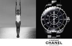 Jac Jagaciak, Fei Fei Sun + Sharam Diniz Star in Chanel Linstant Watch 2014 Campaign