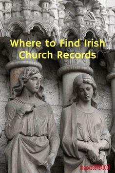 Where to find Irish Church Records | Irish Genealogy Research | Family History | Parish Records | Bespoke Genealogy #genealogy