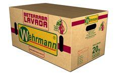 Arte para caixa de beterraba agrícola Whermann