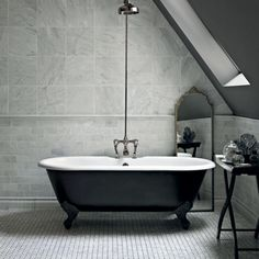 Bridgehampton Marble - Diamond Sawn Edge/Honed Earth - reference for grey tone marble Grey Marble Tile, Marble Wall, Versailles, Fired Earth Bathroom, Bathroom Colors, Bathroom Ideas, Cloakroom Ideas, Bathroom Plans, Bathroom Organization