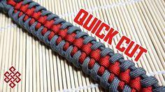 Raid Knot Paracord Bracelet Tutorial Quick Cut