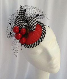 Cherries Jubilee by Laura Hubka Millinery #millinery #judithm #hats