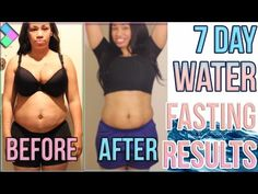 Water Weight Loss Before And After Water Fasting Results Before And After