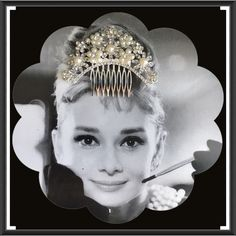 """✂️LAST CALL✂️INSPIRED PEARLS RHINESTONE HAIR COMB 💫Beautiful vintage inspired pearls rhinestone old Hollywood headpiece jewelry accessories. Size : 3""""length (approx) 4""""wide(approx )🆓 ✅ Free $5 or less item in my closet with any purchase ✅ I love to receive offers. 15% off bundle of 2 or more. Higher discount considered for larger bundles ❌No trades. Thanks for looking 💐 Accessories Hair Accessories"""