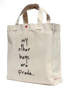 Diseño personal… y con humor - Note Tutorial and Ideas Diy Tote Bag, Reusable Tote Bags, My Other Bag, Painted Bags, Diy Inspiration, Jute Bags, Fabric Bags, Shopper Bag, Cotton Bag