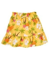 NEW Gymboree Size 6 Pineapple Family / Aloha sunshine Cotton Skirt NWT Free Ship No slice