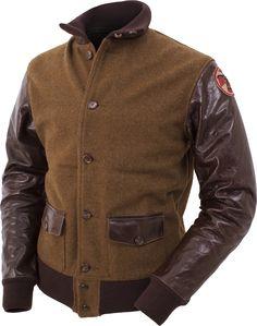 Eastman A-1 Thunderbird Wool & Horsehide Jacket