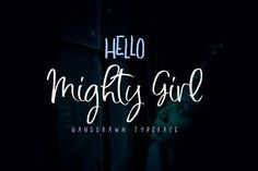 Mighty Girl FontDuo by artisans on @creativemarket perfect for product design, crafts, room decor, invitations, greeting cards, tags, labels and so much more. **Affiliate Link**