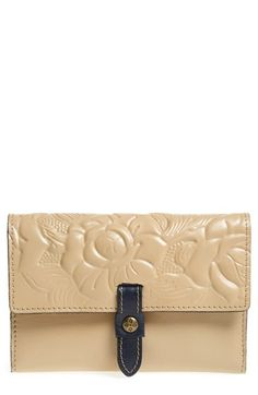 Patricia Nash 'Colli' Leather Flap Wallet