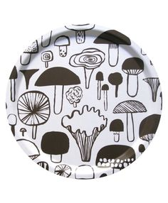 Designed by Matti Pikkujämsä for KaunisteMaterial: Finnish birch veneerSize: safeColor: Dark Brown Storage Buckets, Textile Design, Stuffed Mushrooms, Interior Decorating, Tray, Plates, Ceramics, Tableware, Lovely Things