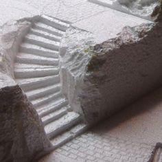 Village Display / Village Platform /  Hot Wire Foam Factory Customer Gallery - DIY: Foam Staircases