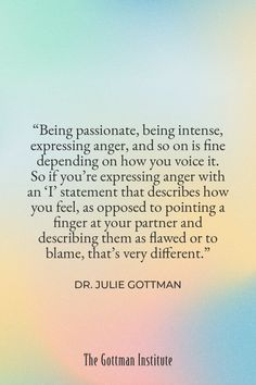 Anger is often an expression of more vulnerable feelings such as embarrassment, sadness, and hopelessness. By focusing on your feelings beneath the anger, you welcome your partner to offer empathy and make a repair instead of becoming defensive. Discover essential tools to communicate effectively with your loved one and repair after anger with Gottman Relationship Coach today. Effective Communication, Communication Skills, Gottman Institute, John Gottman, Step Workout, Relationship Coach, Emotional Development, Keep Fighting, Love Languages