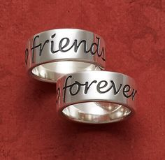 """""""Friends Forever"""" Band from James Avery Jewelry"""