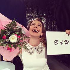 #BarbaraDUrso Barbara D'Urso: Grazie per averci seguito anche oggi!! ❤️❤️❤️ #pomeriggio5 #Mediaset #tv #backstage #pictoftheday #selodesideriaccade #colcuore #instagood #instamood #fiori #grazie #BdU #barbaradurso.com