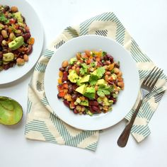 Healthy Three Bean Fiesta Salad + My Favorite Plant-Based Proteins — Whole Living Lauren