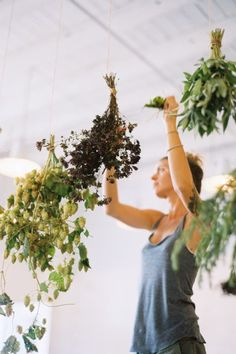 Element Eden Creates: Dried floral and herb bunches as natural decoration!