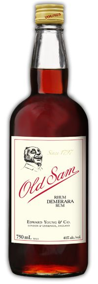 Lover of Old Sam. Don't let the simple label fool you, this Demerara Rum is first-class.