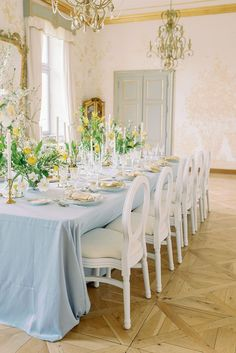 Let's get to the good stuff. This Prague chateau wedding inspiration is teeming with spring pastels, romantic fashion and a plethora of bright daffodils that give it just the right amount of whimsy. Forest Wedding Reception, Wedding Reception Centerpieces, Luxe Wedding, Chateau Wedding Inspiration, Spring Wedding Inspiration, Wedding Ideas, Daffodil Wedding, Winter Wedding Flowers, Letterpress Wedding Stationery