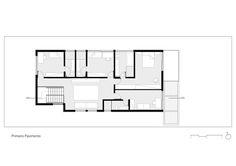 Casa Granja Julieta,Planta - 1º Pavimento