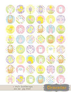 Easter-bottle-cap-images