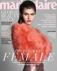 Aja Naomi King, Alexandra Daddario, Emily Ratajkowski, Janelle Monáe, Zoey Deutch cover the May 2017 issue of Marie Claire magazine photographed by V Magazine, Fashion Magazine Cover, Magazine Covers, Marie Claire, Cosmopolitan, Vanity Fair, Best Fashion Magazines, Brazil News, Interview