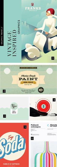 vintage inspired graphic design trend