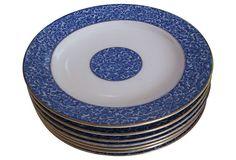 1904 Tiffany Royal Worcester Plates, S/7 on OneKingsLane.com