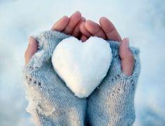 snow heart - sneeuw - winter - hartje