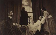 Fading Away, 1858, Henry Peach Robinson. | 22 des photographies les plus importantes du monde
