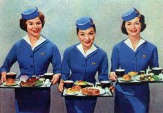Pan Am meal service, 1960
