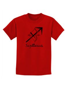TooLoud Sagittarius Symbol Childrens T-Shirt