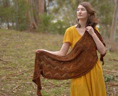 Fine Hewn by Kristen Hanley Cardozo, knit in Cephalopod Yarns Bugga!