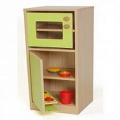 Cocinita infantil módulo frigorifico y microondas