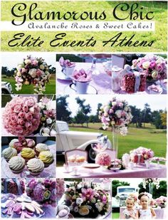 Glamorous Chic Tea Garden Party, by Elite Events Athens
