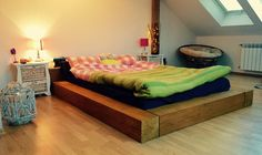 DIY Pine Wood bed Frame Overall cost approx: €250