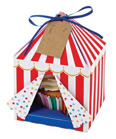 Toot Sweet Small Tented Cupcake Box - Set of Four | zulily