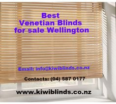 #KiwiBlinds offers best quality #VenetianblindsforsaleinWellington, New Zealand. It is  owned family business that offers excellent advice on the available varieties, colors and styles, helping to make your decision easier. http://kiwiblinds.co.nz/