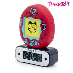 This unique Tamagotchi lamp alarm clock is an official licensed product approved by Bandai. As for our whole product range, our care for great design and our dedication resulted in this original alarm clock, which will delight every nostalgic of this game. Adding to the programmable alarm, the self-lighting screen show Bandai Namco Entertainment, Character Names, Digital Alarm Clock, Cooking Timer, Range, Technology, Lighting, Unique, Shop