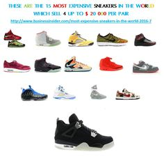4c0fa366b These are the 15 most expensive sneakers in the world