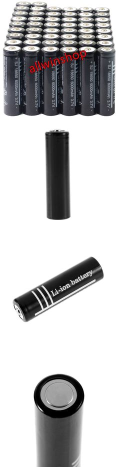 Rechargeable Batteries: 200Pcs 18650 6000Mah 3.7V Rechargeable Li-Ion Battery For Flashlight Torch Oy -> BUY IT NOW ONLY: $149.99 on eBay!